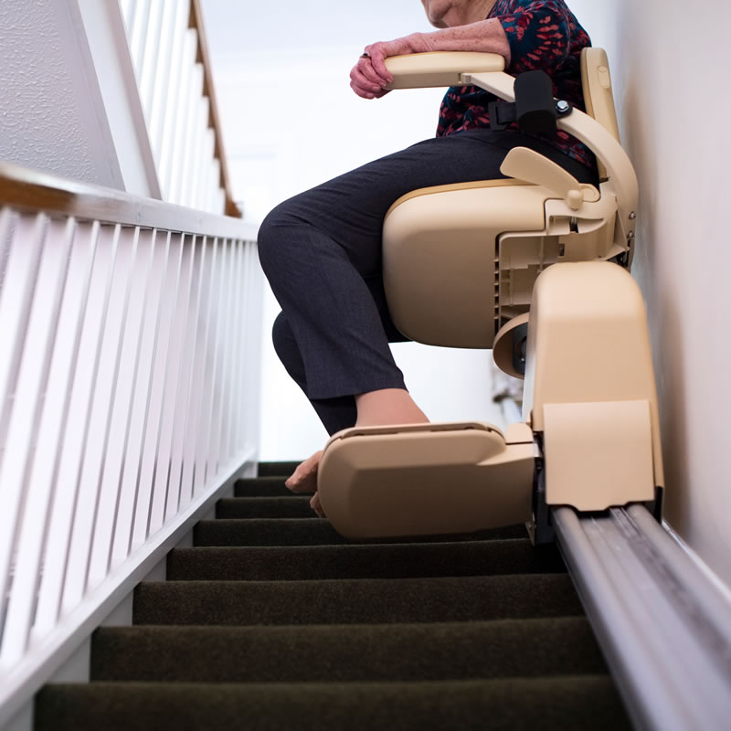 Straight Stairlift by HomeLift Mobility Solutions